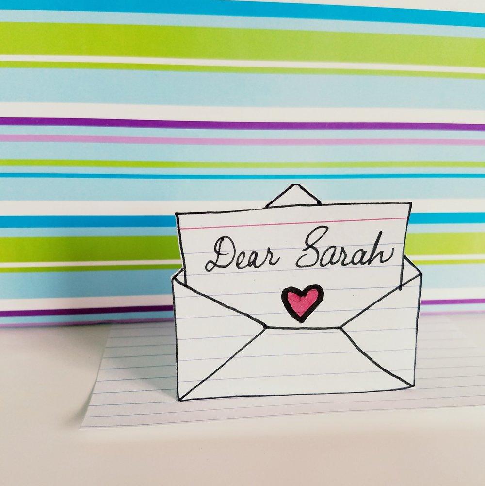 Dear Sarah...