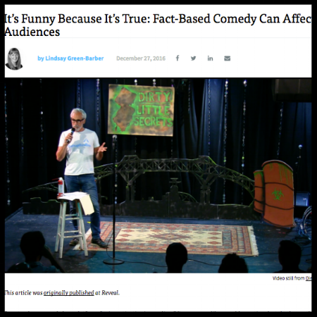 It's funny because it's true: Fact-based comedy can affect audiences