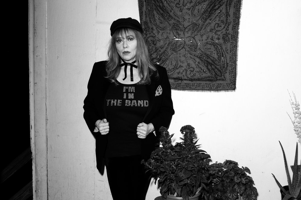 Bebe Buell for Electric Thread
