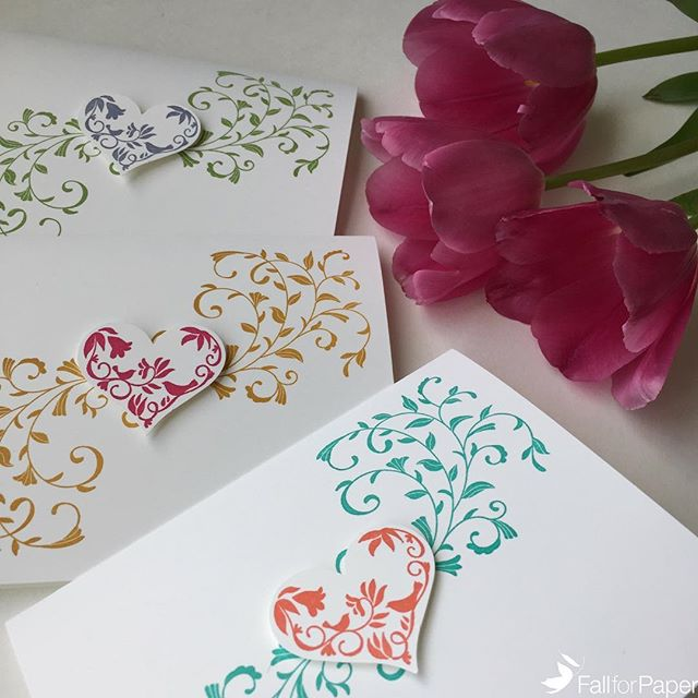 Mother's Day is coming up! Head over to fallforpaper.com to order one of these special cards! #fallforpaper #handmade #cards #prints #paper #mothersday #heart #love #yyc