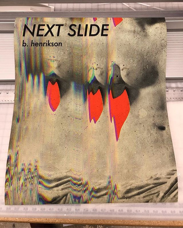 Tonight come get your Next Slide signed poster @mfaphotovideo 's 30th anniversary book fair!  6pm -open bar-