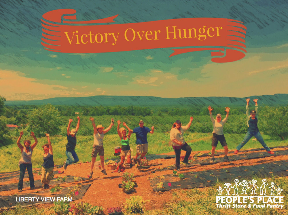 Victory Over Hunger, Liberty View Farm, Peoples Place.