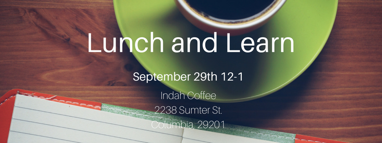 Are you interested in learning more about Palmetto Place? Attend our upcoming Lunch and Learn!   Join our staff on September 29th at indah Coffee, 2238 Sumter St in Columbia. You'll learn more about our shelter, the kids we serve and ways you can get involved. The presentation will begin at 12:00, so arrive early if you want to order a bite from the menu.