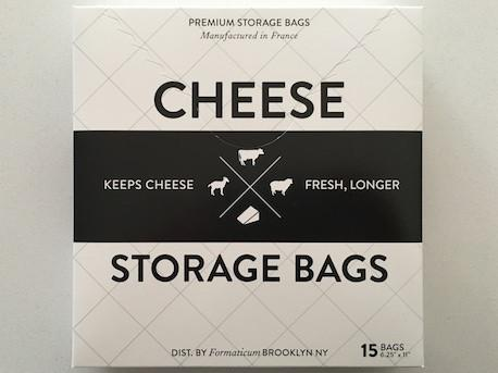 Cheese Storage Bags from White and Fig
