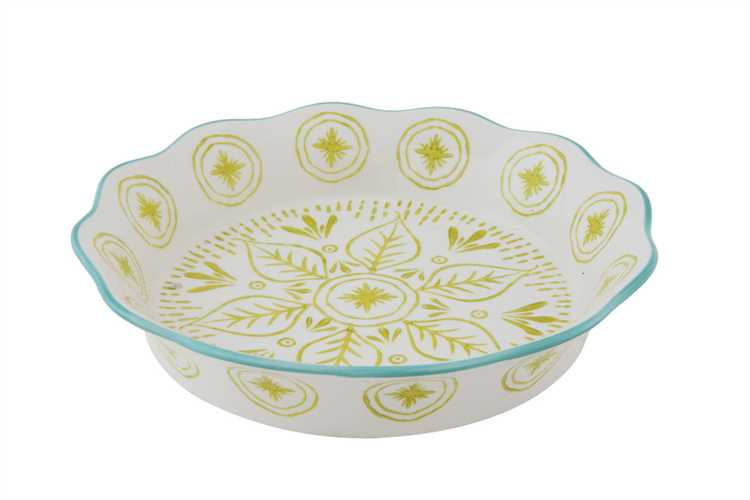 Copy of Hand-painted Pie Dish from White and Fig