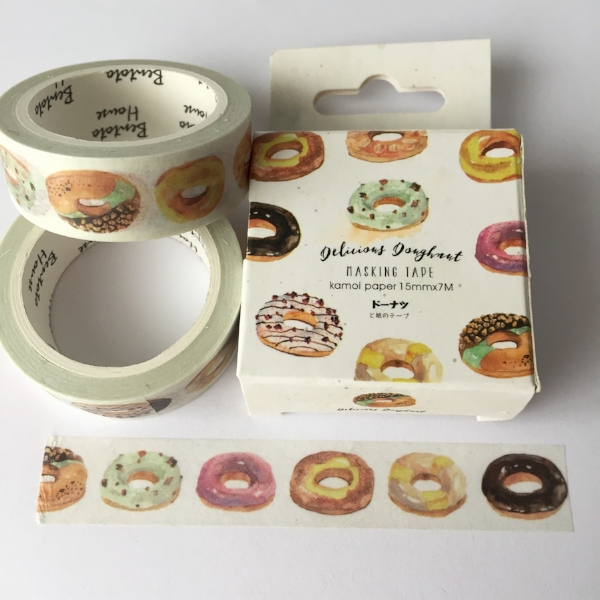 Copy of Donut Washi Tape from White and Fig