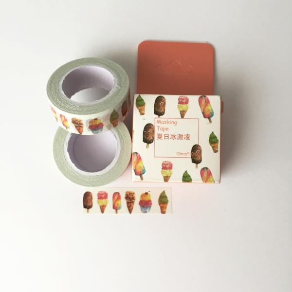 Copy of Ice Cream Cone Washi Tape from White and Fig