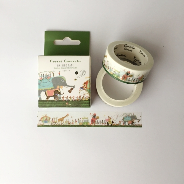 Copy of Circus Friends Washi Tape from White and Fig