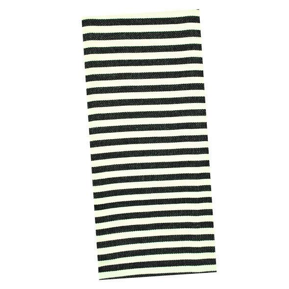 Copy of Black Striped Towel from White and Fig
