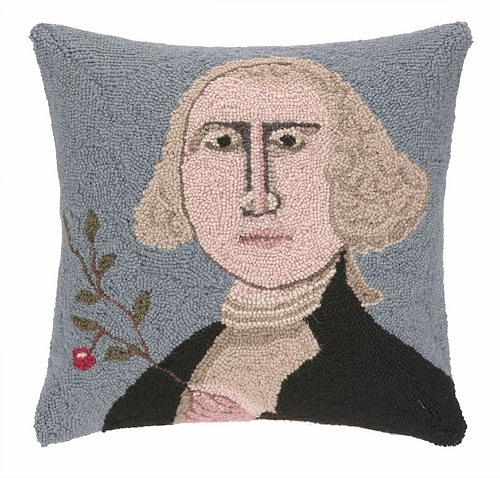 Copy of George Washington Pillow from White and Fig