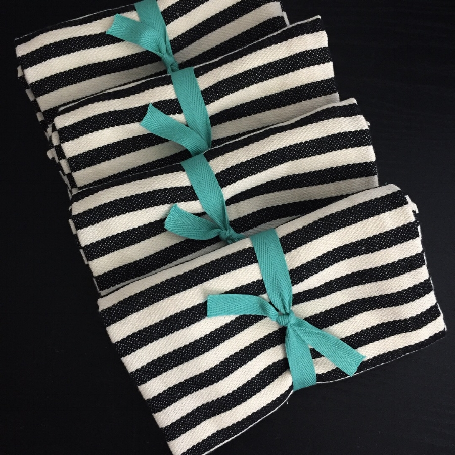 Copy of Striped Kitchen Towel from White and Fig