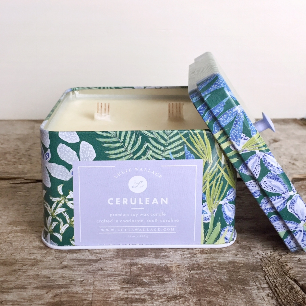Cerulean Candle from White and Fig