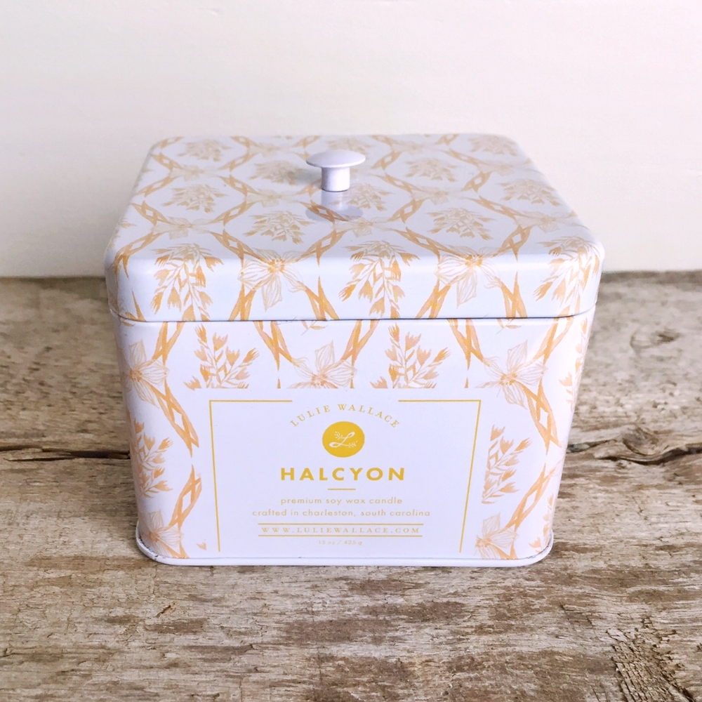 Halcyon Candle from White and Fig