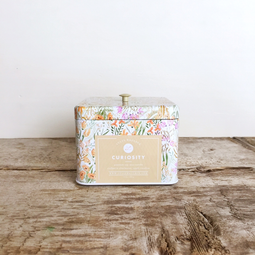 Curiosity Candle from White and Fig