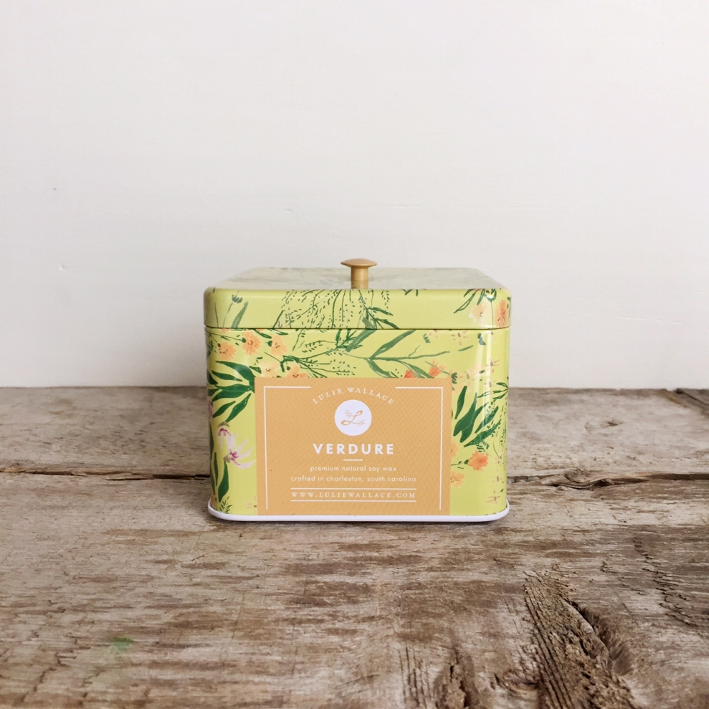 Verdure Candle from White and Fig
