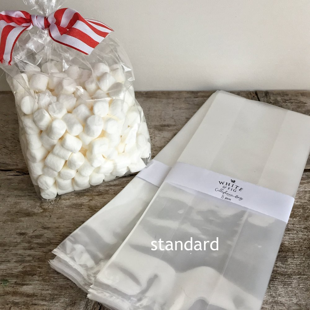 Cellophane bags from White and Fig