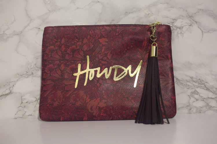 Howdy Clutch from Writ Studio