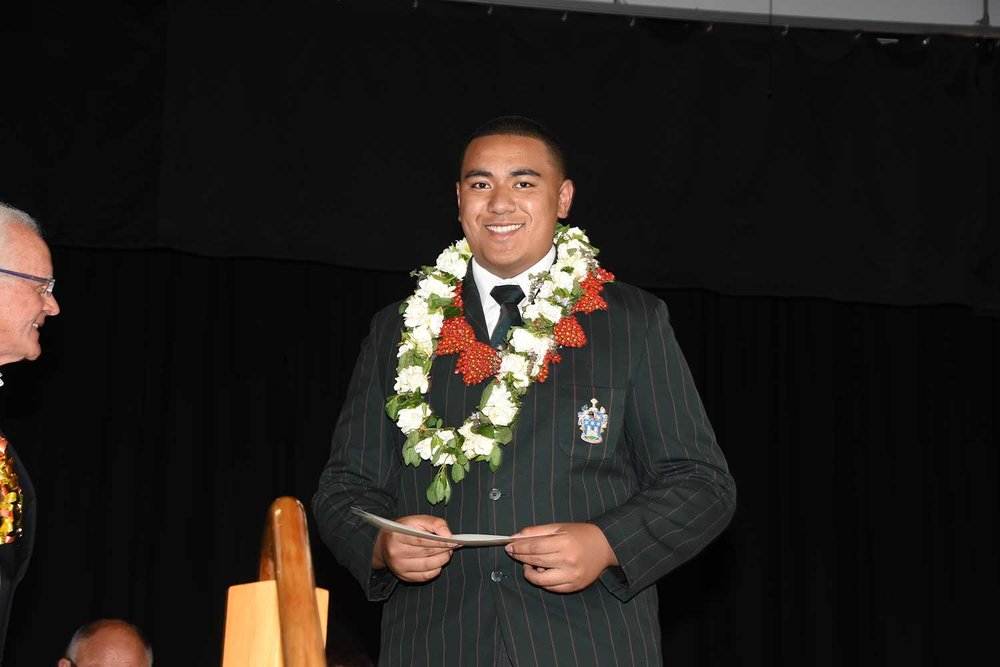 Henry Toófohe, Dilworth Prize Giving 2016