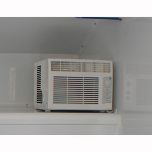 Air Conditioner with housing (not shown) c/w Shore Plug (5000 BTU): $495.00