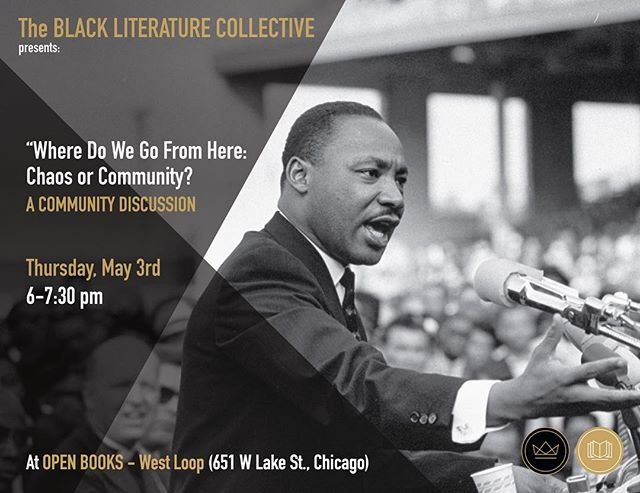 It's been a minute, but hope to see you this Thursday at Open Books! Discussion open to the public even if you've not read the book. #readblackwords