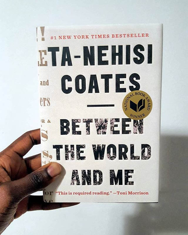 """Welcome to May of The Black Literature Collective!  This month, we are focusing on the words of Ta-Nehisi Coates in his popular book, """"Between The World And Me"""". Inspired by James Baldwin's book, """"The Fire Next Time"""", Coates writes to his son about the realities of being black in the United States. We are excited about the discussion that will come from this timely piece whether you have read the book already or this is your first time reading it. . . . New to the Black Literature Collective? Welcome! Click the link in our bio to learn more about the collective and how to stay up to date about upcoming books and discussions."""