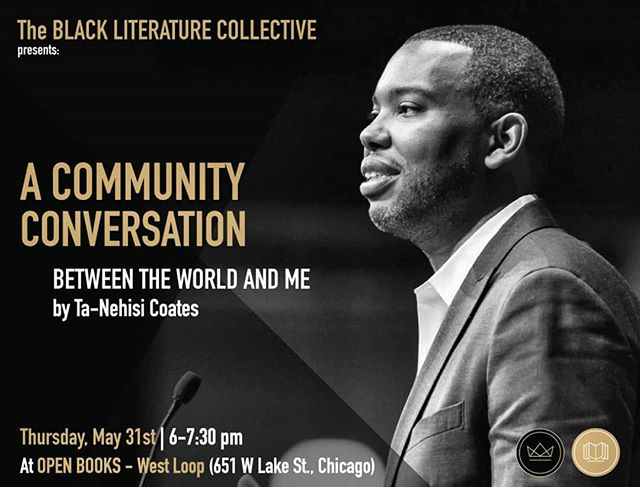 "This Thursday, join us for our community discussion on our May book, ""Between The World And Me"". Whether you are still reading the book, haven't picked it up yet, or have read it a long time ago we would love to have you at this discussion."