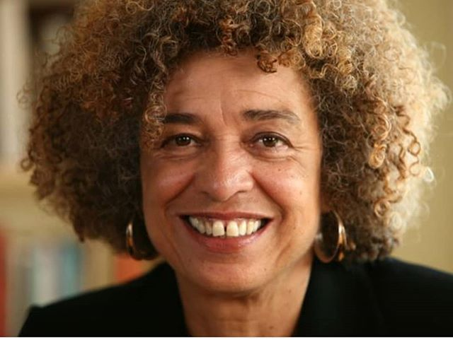 "Angela Y. Davis is an American political activist, academic, and author. Known to be critical of the U.S. prison system, racism, and sexism (to name a few things), Davis continues to teach us and challenge us to examine closely what seems to be normalized in America. . . . This month, we are reading Davis' book, ""Freedom Is a Constant Struggle: Ferguson, Palestine, and the Foundations of a Movement"". We are excited to read the words of Angela Davis this month and we are excited for you to join us. #Readblackwords"