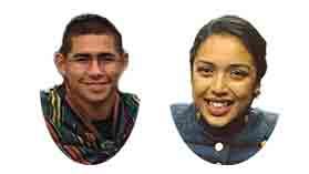 Alexander Josiah Alvarado and Vania Murcia
