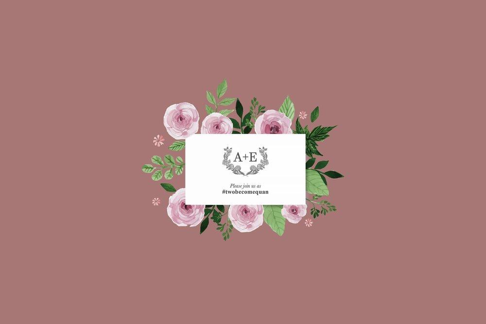 Ae wedding wedding invitations design by mii ae wedding stopboris Images