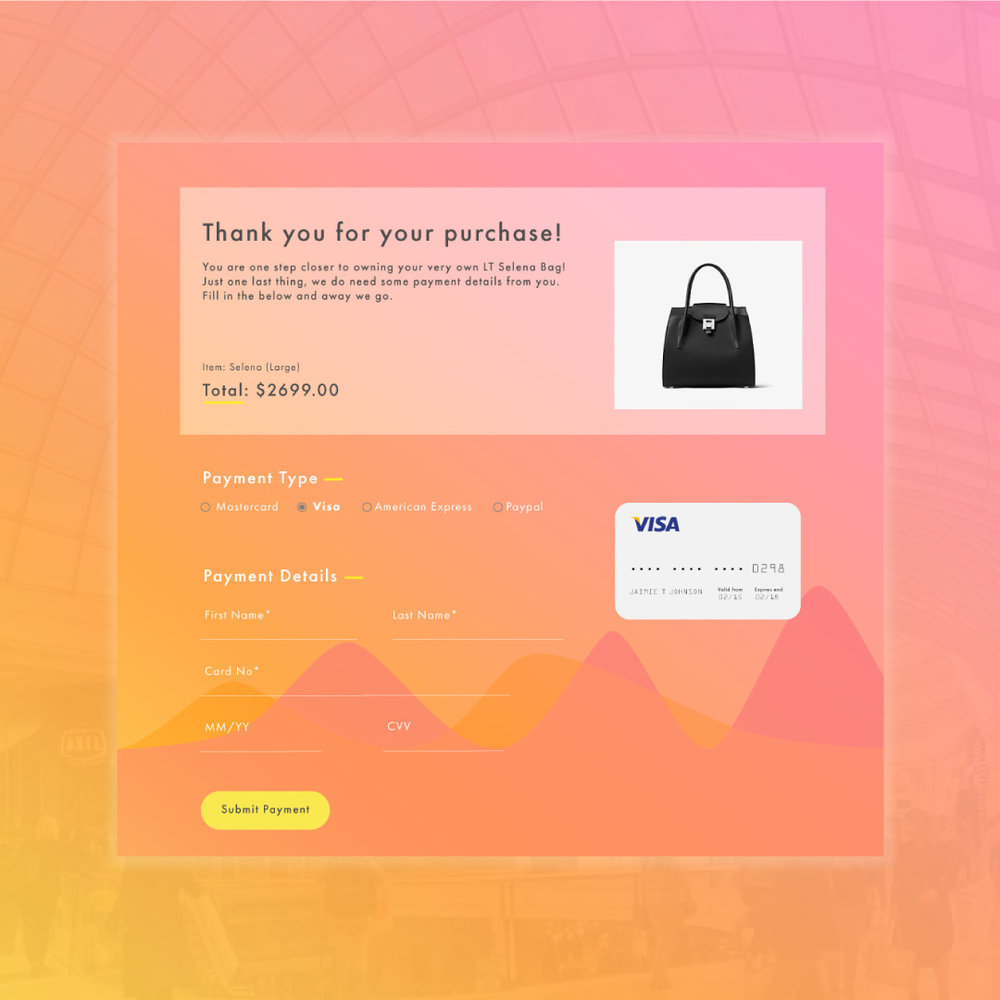 Day 001 | Credit Card Checkout