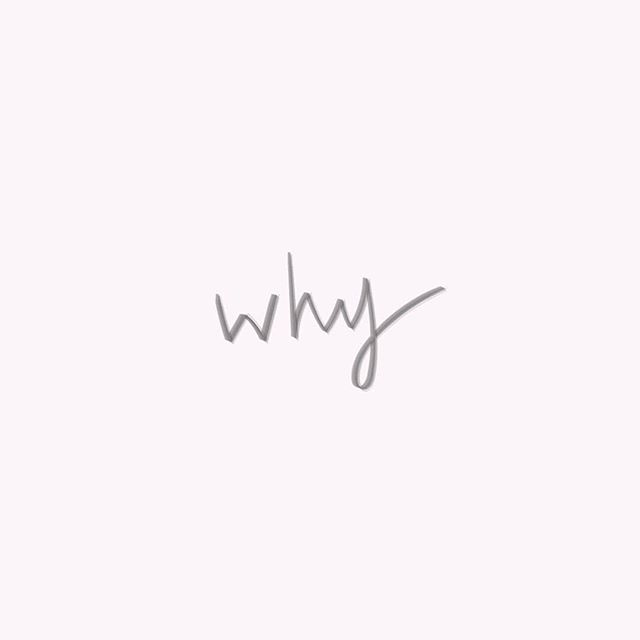The one word that aways leads to many opportunities #alwaysaskwhy #startwiththewhy #brandingstrategy #branding #design #handlettering #brushlettering #wacom
