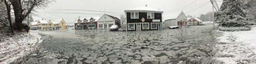 Snug Harbor Flood  Photo by Jake Emerson