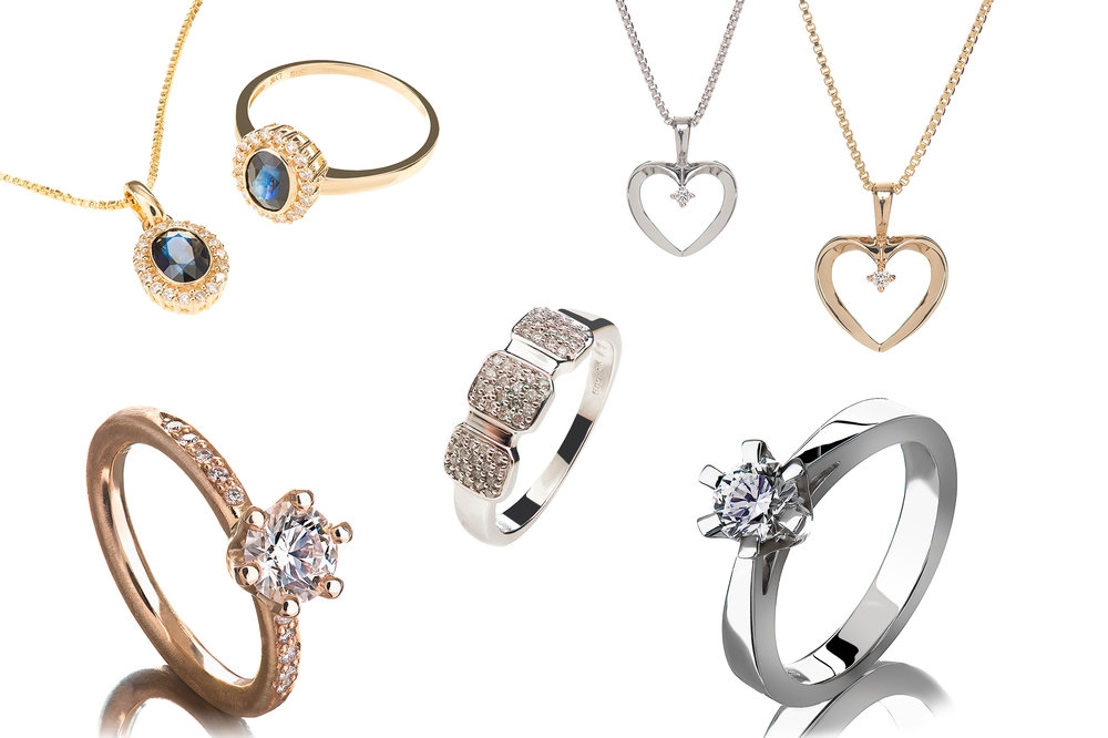 Packshot: jewelry