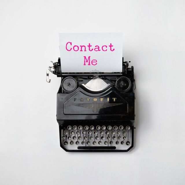 LB - Image - Ad - Contact me typewriter.jpg
