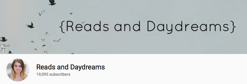 LM - BookTubers - Reads and Daydreams