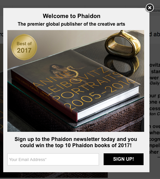 LM - Image - Newsletter sign up example PHAIDON.png