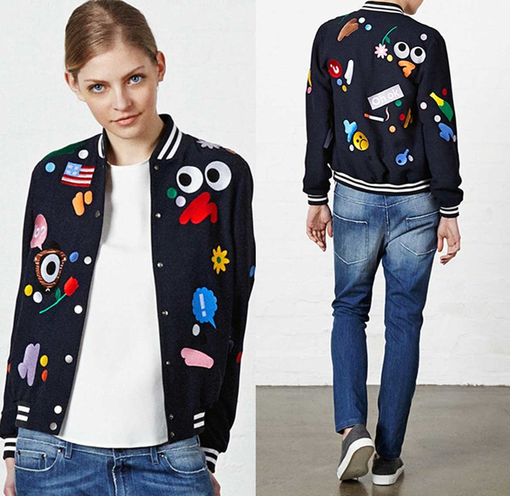 mira-mikati-2015-2016-fall-autumn-winter-fashion-womens-denim-jeans-pop-art-embroidery-patches-cartoon-faces-flowers-drawstring-color-stripes-01x.jpg