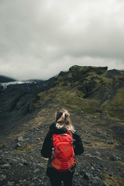 Eyafjallajokull glacier