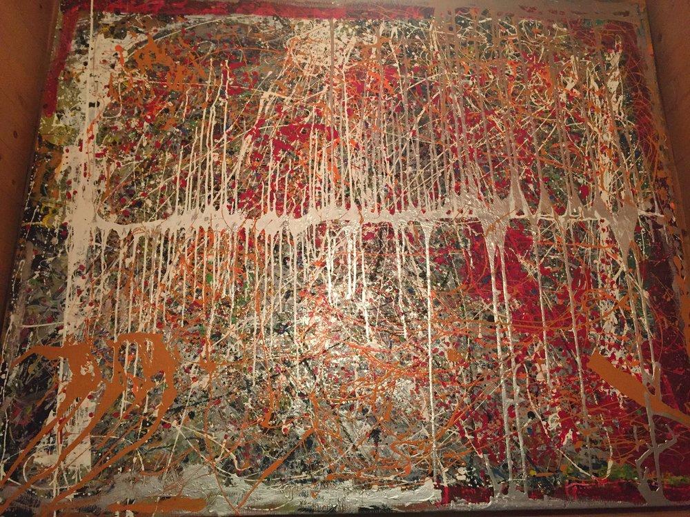 No. 1 When I Paint My Masterpiece - 166 x 166 cm