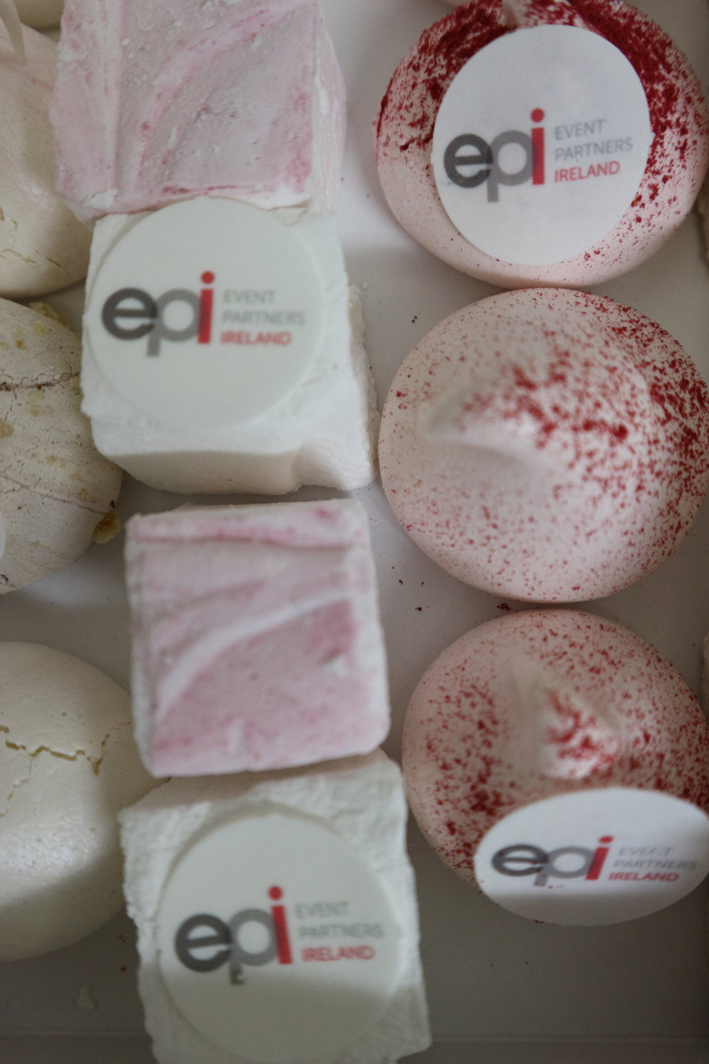 Branded marshmallows