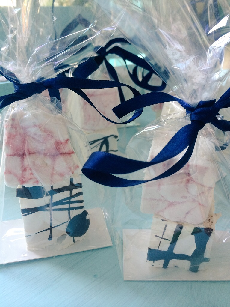 Wedding favours, corporate favours, marshmallows