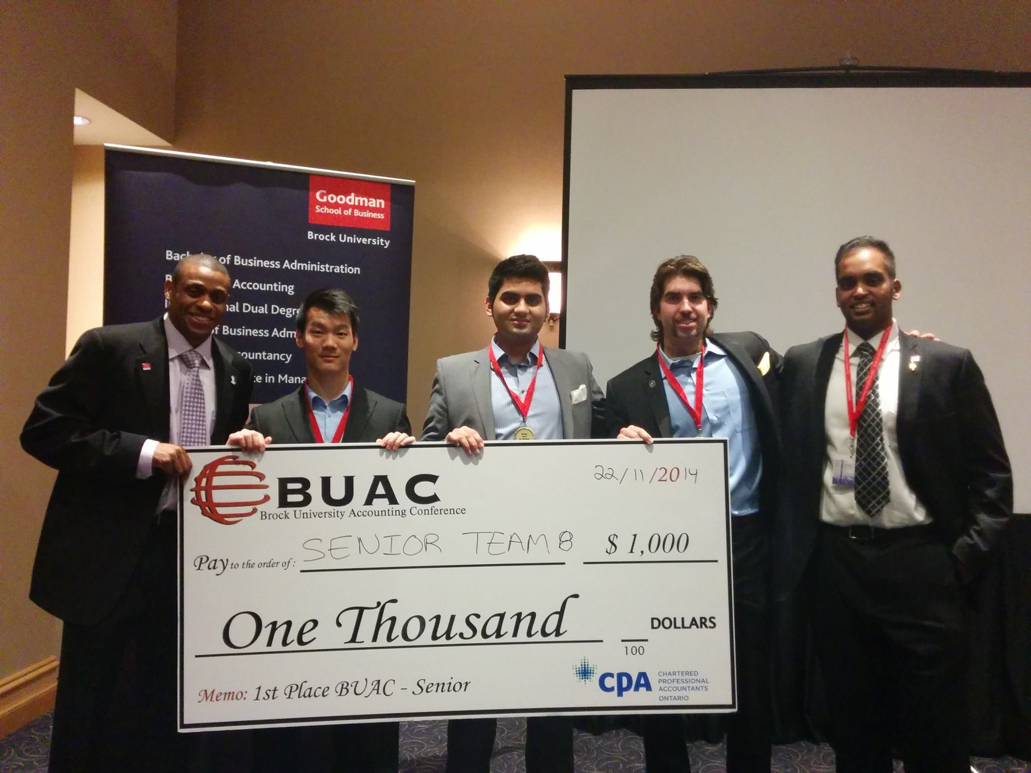 BUAC Senior Team 8 Victory Picture