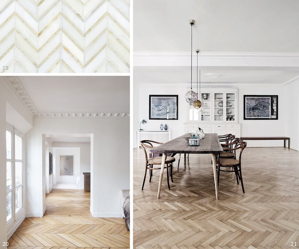 Pic 16  – Smart combination of wood and marble /  Pic 17  /  Pic 18  /  Pic 19  /  Pic 20  - Love the view through the rooms /  Pic 21