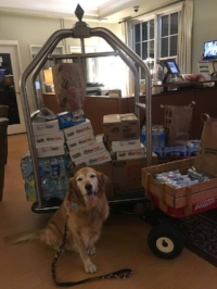 Roxanne had a very busy weekend! In addition to sharing the love, she also delivered Beanie Babies and leftover snacks from the Turkey Day 5K to the  Ronald McDonald House of Durham & Wake .