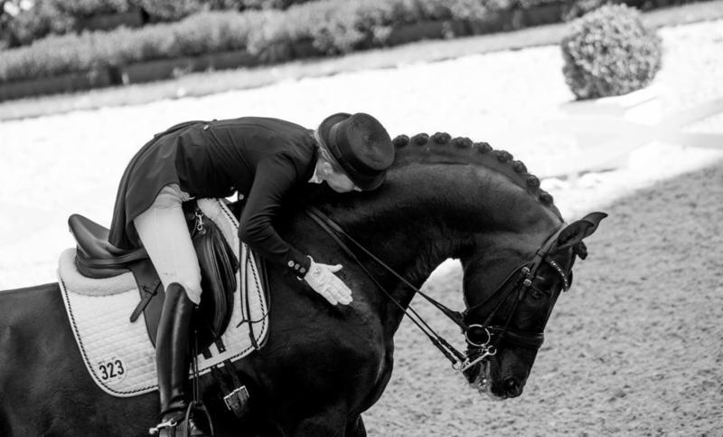 Helen Langehanenberg and Damsey FRH. Photo by Lily Forado.