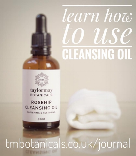 How to use our Rosehip Cleansing Oil