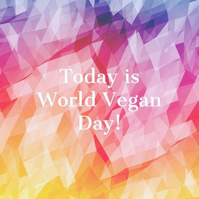 Wishing all our lovely customers and followers a 'Happy World Vegan Day'. #vegan #veganskincare #inspiredbythepeakdistrict #oeganicskincare #palmoilfree #govegan