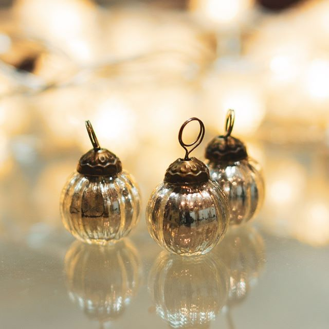 We're getting out the Christmas tree decorations; these are a particular favourite. What's your favourite Christmas decoration?#inspiredbythepeakdistrict #christmasdecorations #gettingchrissmasy #christmassilver #peakskincare