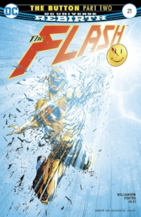 Mark picks the lenticular-covered Flash this week.  Probably because of the shot of the Justice League Lost and Found.