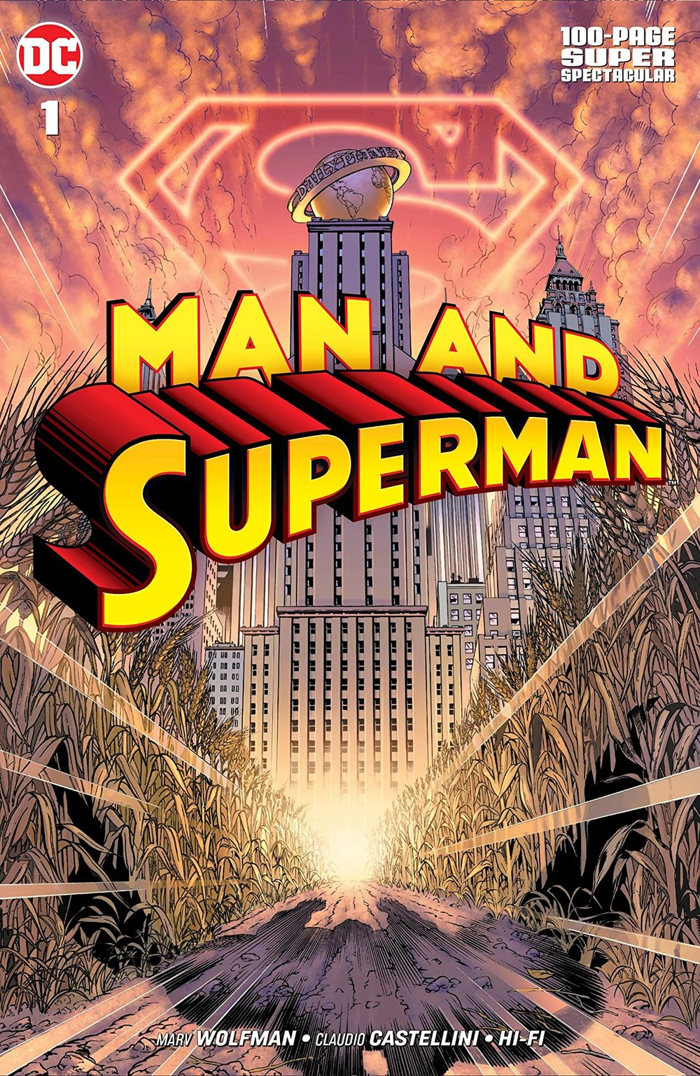 Pick 501 - Mark's favorite comic from the weeks covered in this show is, of course, a Superman book. But what a book! Mindy has to say she really enjoyed this one as well.